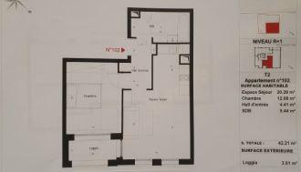 Vente appartement f1 à Lille - Ref.V6634 - Image 1